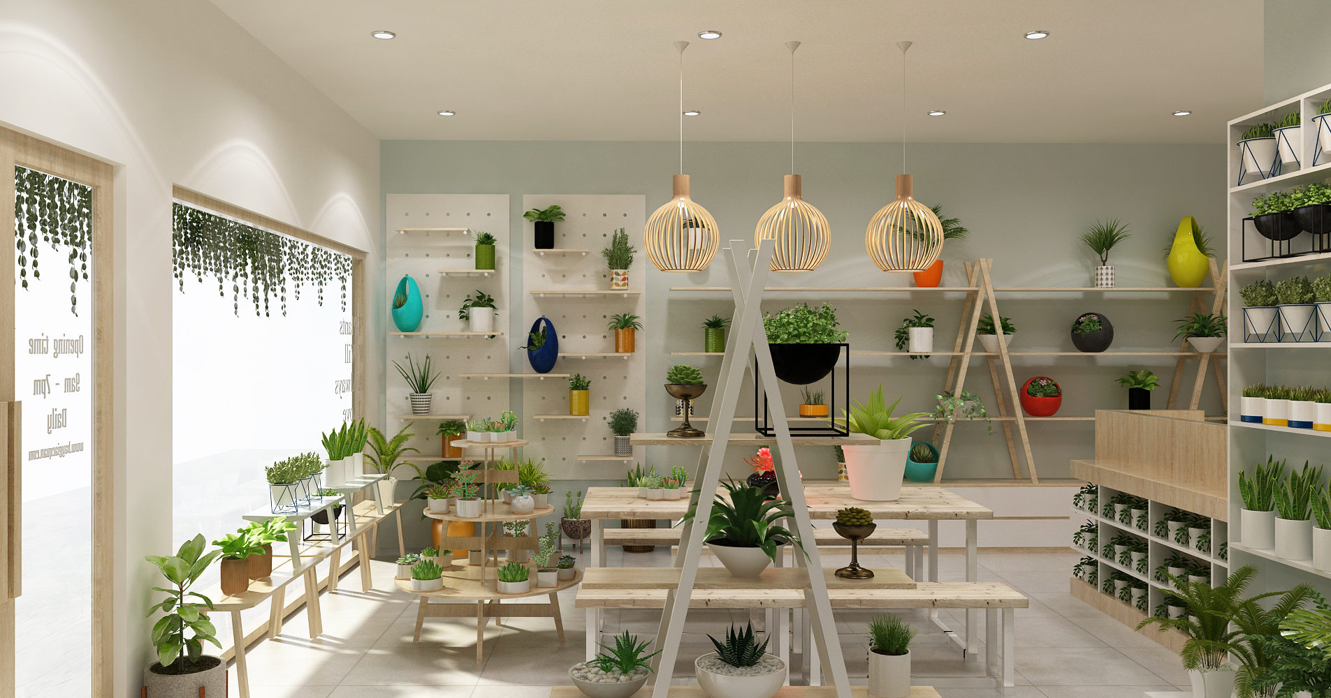 Cửa hàng cây phong thủy